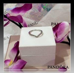 🌺 Pandora Shimmering Wish Ring 🌺